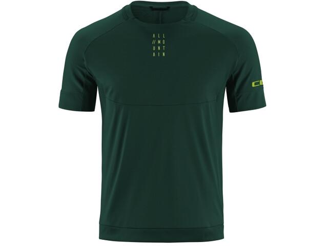 Cube AM Jersey T-shirt Ronde Hals Heren, dark green